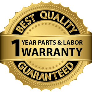 Prestige Air one year parts and labor warranty