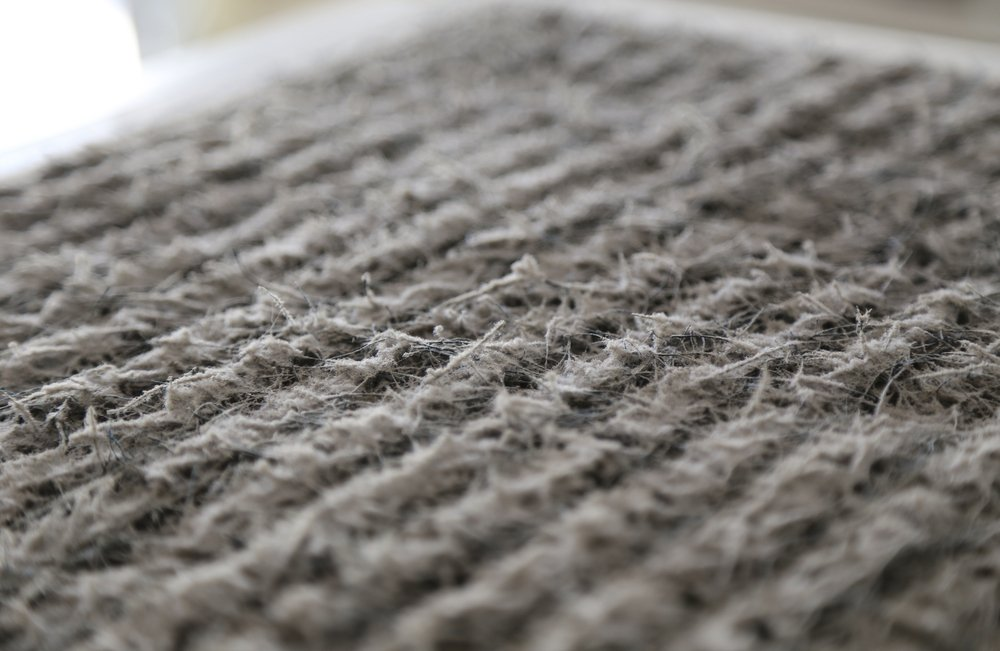 Dirty heater and air conditioner air filter