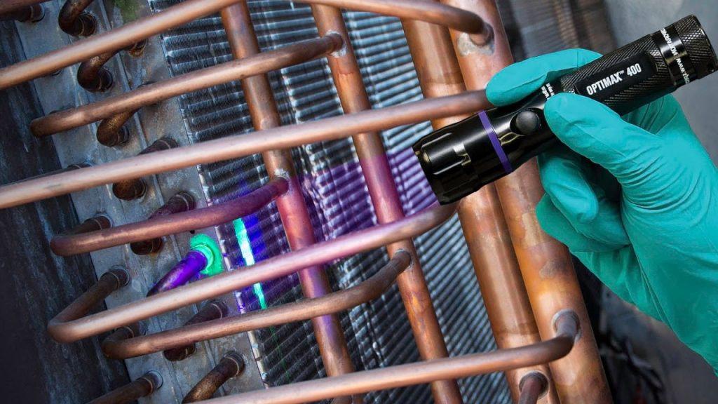 UV Dye Leak Detection